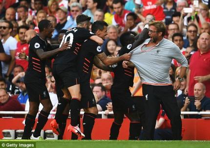 Xem lại video bàn thắng trận Arsenal 3-4 Liverpool lượt đi mùa này