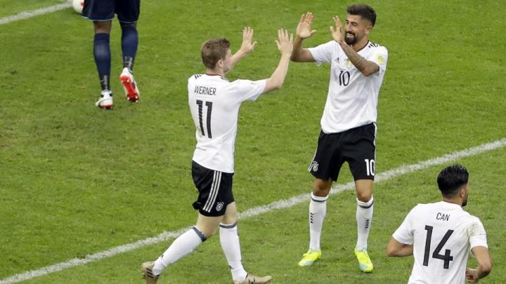 Highlights Đức 3-1 Cameroon
