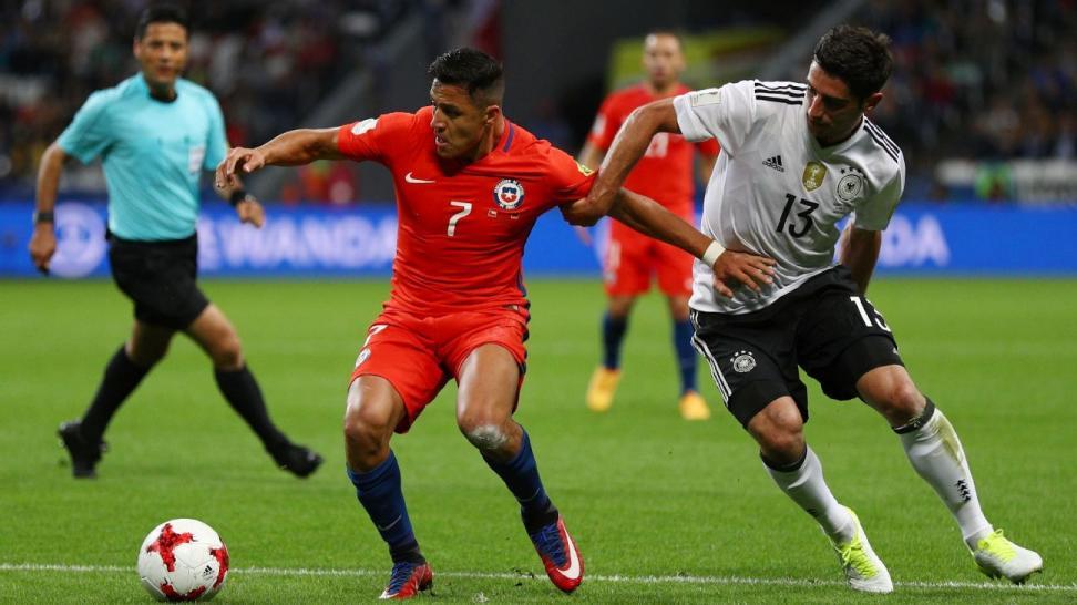 Đức đánh bại Chile ở chung kết Confederations Cup 2017