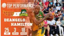 """DeAngelo Hamilton """"hủy diệt"""" Saigon Heat bằng màn trình diễn đẳng cấp"""