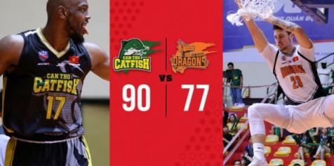Khuất phục Danang Dragons, Cantho Catfish khép lại Regular Season VBA với số trận thắng kỷ lục