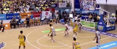 Nguyễn Thành Nhân rực sáng với 16 điểm trước Thang Long Warriors tại Game 45 VBA 2018