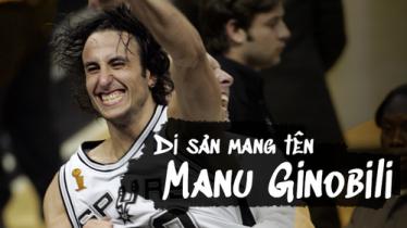 Manu Ginobili và di sản Eurostep thay đổi cả NBA