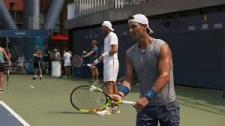 Nadal thử 'nắn gân' Del Potro trước thềm bán kết US Open