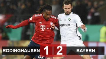 Rodinghausen 1-2 Bayern: Hùm xám nhọc nhằn hạ đội hạng 4