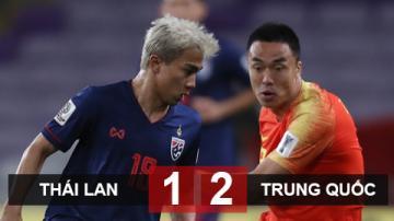 Thái Lan 1-2 Trung Quốc: Người Thái dừng bước sau trận thua ngược