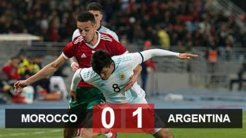 Morocco 0-1 Argentina: Albiceleste thắng nhọc trong ngày không Messi