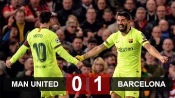 M.U 0-1 Barca: Đẳng cấp lên tiếng