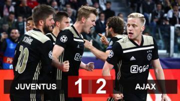 Juventus 1-2 Ajax (chung cuộc 2-3): Ajax ngược dòng vào bán kết