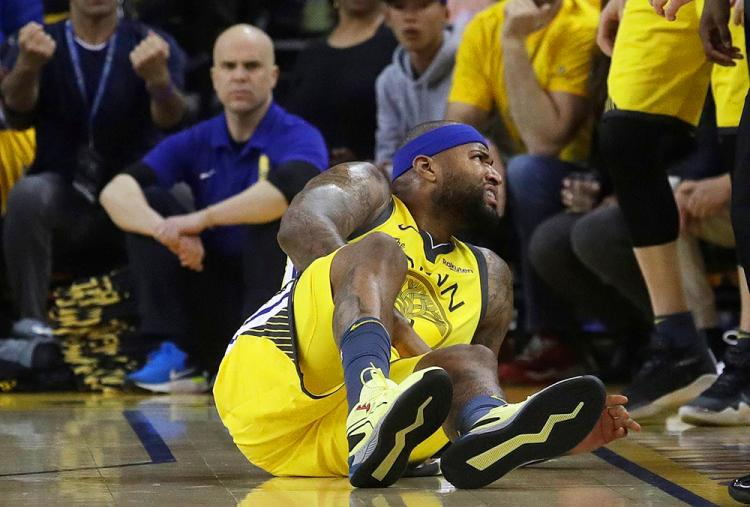 DeMarcus Cousins nhận tin xấu về chấn thương, chia buồn cùng Stephen Curry và Golden State Warriors